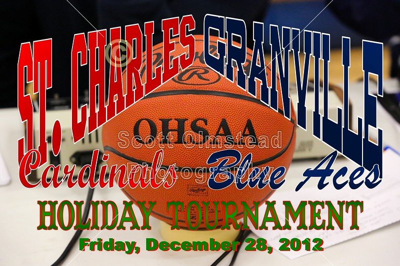 Friday, December 28, 2012 - St. Charles Cardinals at Granville Blue Aces - Holiday Tournament