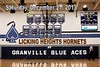 Saturday, December, 21, 2013 - Licking Heights Hornets at Granville Blue Aces