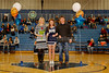 Senior Night Introductions - Friday, January 31, 2014 - Lakewood Lancers at Granville Blue Aces