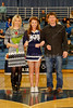 Senior Night - Friday, January 31, 2014 - Lakewood Lancers at Granville Blue Aces