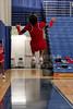 Centennial Cheerleaders - Wednesday, February 26, 2014 - Columbus Centennial Stars at Granville Blue Aces - OHSAA Tournament