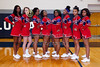 Centennial Cheerleaders - Wednesday, February 26, 2014 - Columbus Centennial Stars at Granville Blue Aces - OHSAA Tournament