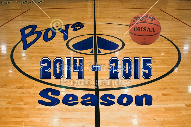 Introducing the 2014-2015 Granville High School Blue Ace Seniors for the Basketball Season - Tuesday, November 25, 2014