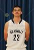 Introducing the 2014-2015 Granville High School Blue Ace Seniors for the Basketball Season - Tuesday, November 25, 2014