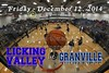 Licking Valley High School Panthers at Granville High School Blue Aces - Friday, December 12, 2014
