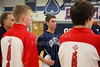 Team Captains - Johnstown High School Johnnies at Granville High School Blue Aces - Thursday, February 6, 2015 - Freshmen Teams