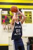 1st Quarter - Granville High School Blue Aces at Watkins-Memorial High School Warriors - Wednesday, January 21, 2015 - Junior Varsity