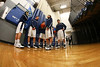 Pregame Warm-Ups - Johnstown High School Johnnies at Granville High School Blue Aces - Granville Hall of Fame Night - Friday, February 6, 2015 - Varsity