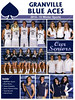 Official Game Program - Johnstown High School Johnnies at Granville High School Blue Aces - Granville Hall of Fame Night - Friday, February 6, 2015 - Varsity