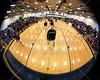 Pregame Warm-Ups - Johnstown High School Johnnies at Granville High School Blue Aces - Granville Hall of Fame Night - Friday, February 6, 2015 - Varsity