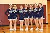 2015-2016 GHS Basketball JV Cheerleaders - Granville High School Blue Aces at Licking Heights High School Hornets - Junior Varsity - Saturday, December 19, 2015