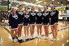 The Blue Aces Cheerleaders - Granville High School Blue Aces at Watkins Memorial High School Warriors - Tuesday, February 9, 2016