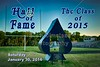 The Granville High School Blue Aces Athletics Hall of Fame Class of 2015 - Adam Alderman 2009, Amanda Barker 2009, Austen Harrison 2010 and Emily Dixon Partyka - Saturday, January 30, 2016