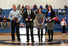 Austen Harrison 2010, Adam Alderman 2009, Amanda Barker 2002, and Emily Dixon Partyka 2002 -  The Granville High School Blue Aces Athletics Hall of Fame Class of 2015 - Saturday, January 30, 2016