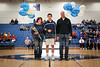 Drew Dilger - Senior Night and the Class of 2016 - Lakewood High School Lancers at Granville High School Blue Aces - Saturday, January 30, 2016