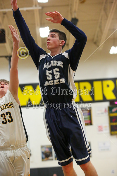 4th Quarter - Granville High School Blue Aces at Watkins Memorial High School Warriors - Freshmen  - Tuesday, February 9, 2016