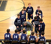 Team Introductions - Granville High School Blue Aces at Watkins Memorial High School Warriors - Junior Varsity - Tuesday, February 9, 2016