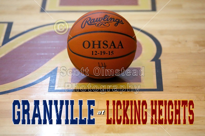 Granville High School Blue Aces at Licking Heights High School Hornets - Saturday, December 19, 2015