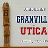 FRESHMEN - Granville High School Blue Aces at Utica High School Redskins - Friday, January 25, 2019