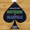 Junior Varsity - Northridge High School Vikings at Granville High School Blue Aces - Thursday, January 24, 2019