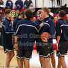 The Teams Take the Court - Granville High School Blue Aces at Utica High School Redskins - Friday, January 25, 2019