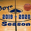 2019 - 2020 Granville High School Blue Aces Boy's Basketball