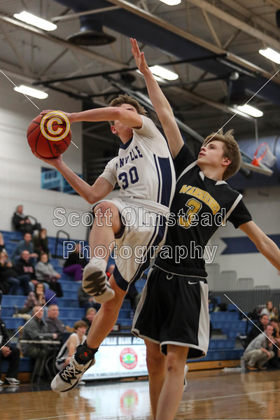 3rd Quarter - Freshmen - Watkins Memorial High School Warriors at Granville High School Blue Aces - Wednesday, December 18, 2019