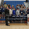 Team Introductions - Watkins Memorial High School Warriors at Granville High School Blue Aces - Wednesday, December 18, 2019