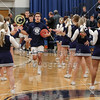 The Blue Aces take the court - Watkins Memorial High School Warriors at Granville High School Blue Aces - Wednesday, December 18, 2019