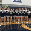 2019-2020 Blue Ace Cheerleaders - Watkins Memorial High School Warriors at Granville High School Blue Aces - Wednesday, December 18, 2019
