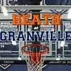Heath High School Bulldogs at Granville High School Blue Aces - Friday, January 24, 2020