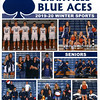 Official Game Program - Junior Varsity - Utica High School Redskins at Granville High School Blue Aces - Tuesday, February 4, 2020