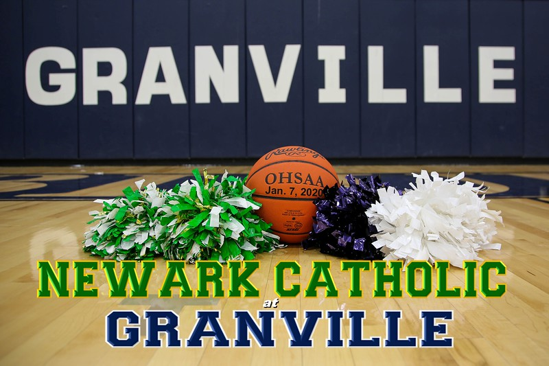 Newark Catholic High School Green Wave at Granville High School Blue Aces - Tuesday, January 7, 2020