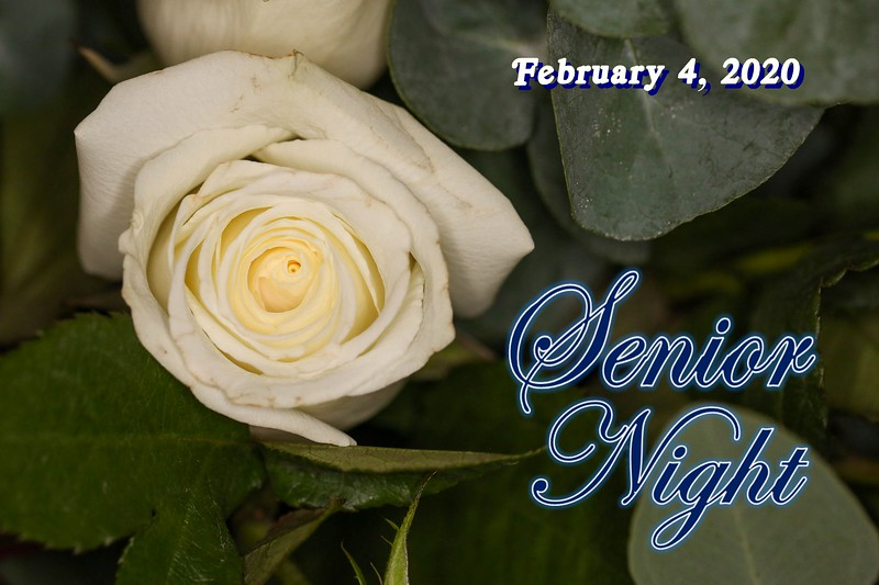 2020 Senior Night - Granville High School Blue Aces Class of 2020 - Tuesday, February 4, 2020