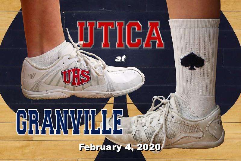 Senior Night - Utica High School Redskins at Granville High School Blue Aces - Tuesday, February 4, 2020