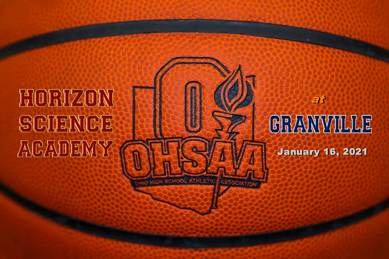 Columbus Horizon Science Academy High School Hawks at Granville High School Blue Aces - Saturday, January 16, 2021