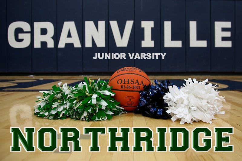 Junior Varsity - Northridge High School Vikings at Granville High School Blue Aces - Tuesday, January 26, 2021