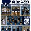 Official Game Program - Watkins Memorial High School Warriors at Granville High School Blue Aces - Saturday, February 6, 2021
