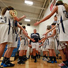 Granville Takes the Court - Tuesday, December 3, 2013 - Canal Winchester Indians at Granville Blue Aces