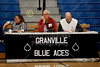 Monday, November 25, 2013 - Dublin Coffman Shamrocks at Granville Blue Aces