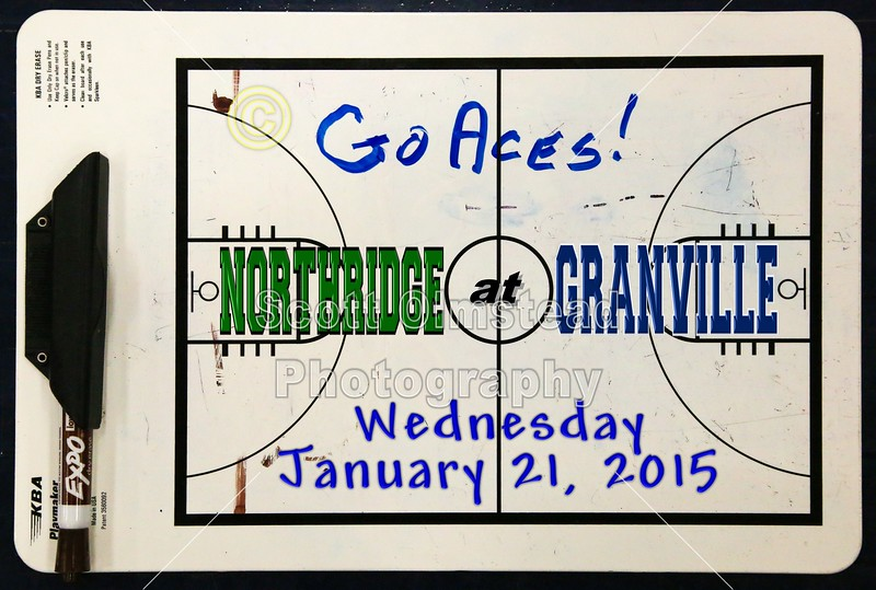 Northridge High School Vikings at Granville High School Blue Aces - Wednesday, January 21, 2015