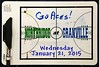 Northridge High School Vikings at Granville High School Blue Aces - Wednesday, January 21, 2015