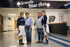 Blue Ace Seniors Maggie Wolf and Journy Link - Newark Catholic High School Green Wave at Granville High School Blue Aces - Senior Day - Saturday, February 6, 2016