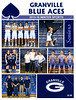 Official Game Program - Northridge High School Vikings at Granville High School Blue Aces - Box Out Lyme Disease Benefit Game - Friday, January 15, 2016