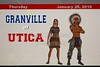 Granville High School Blue Aces at Utica High School Redskins - Tuesday, January 26, 2016