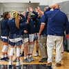 The Blue Aces take the court - Johnstown High School Johnnies at Granville High School Blue Aces - Friday, December 13, 2019