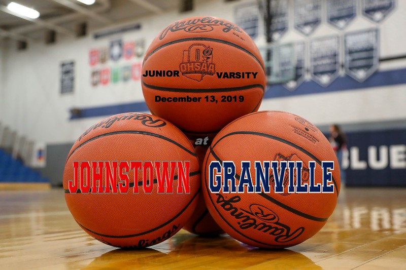 Junior Varsity - Johnstown High School Johnnies at Granville High School Blue Aces - Friday, December 13, 2019