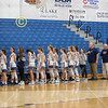 The National Anthem - The Ohio High School Athletic Association (OHSAA) State Tournament - Cristo Rey High School Cougars (Columbus, Ohio) at Granville High School Blue Aces - Friday, February 21, 2020