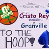 The Ohio High School Athletic Association (OHSAA) State Tournament - Cristo Rey High School Cougars (Columbus, Ohio) at Granville High School Blue Aces - Friday, February 21, 2020