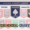 Watkins Memorial High School Warriors at Granville High School Blue Aces - Saturday, January 25, 2020